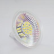 billige Spotlys med LED-120-150 lm GU5.3(MR16) LED-spotpærer MR16 50 LED perler SMD 3020 Varm hvit / Naturlig hvit 12 V / 1 stk.