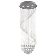 olcso -6-Light Kristály Függőlámpák Süllyesztett lámpa Galvanizált Fém Kristály, LED 110-120 V / 220-240 V Meleg fehér / Hideg fehér Az izzó tartozék / GU10