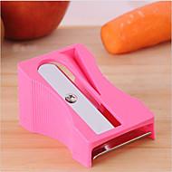 gulerod agurk blyantspidser skrællekniv tynde skiver køkken værktøj grøntsag frugt pålægsmaskine tilfældig farve