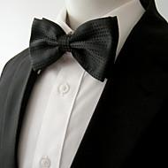 mænds fest arbejde rayon slips solid, bue lagdelt grundlæggende