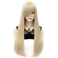 Wigs for Women Blond Long Hair With Bangs Costume Wigs Cosplay Wigs