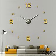 3d ny mote design stort veggur hjem innredning DIY klokke