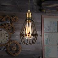 baratos -Vintage Regional Luzes Pingente Para Sala de Estar Quarto Banheiro Cozinha Sala de Jantar Quarto de Estudo/Escritório Quarto das Crianças