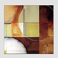 billiga Landskapsmålningar-Hang målad oljemålning HANDMÅLAD - Abstrakt Europeisk Stil Moderna Duk