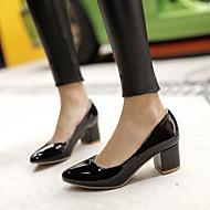 baratos Sapatos de Tamanho Pequeno-Mulheres Sapatos Courino Primavera / Verão Salto Sabrina Branco / Preto / Vermelho / Social