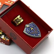 Smykker / Emblem Inspireret af The Legend of Zelda Cosplay Anime / Videospil Cosplay Tilbehør Emblem Legering Herre Halloween Kostumer