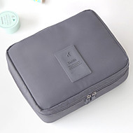 Women Bags Nylon Cosmetic Bag for Casual Orange Gray Navy Blue Blue Wine