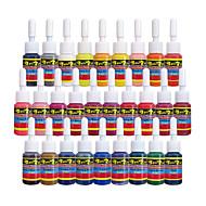 """28 × 5 מ""""ל צבעים וראייטי דיו קעקוע קלאסי פיגמנט הקעקוע גדר צבע צבעי איפור"""