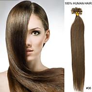 20inch remy nagel tip haar 0.5g / s human hair extensions 16 kleuren voor vrouwen schoonheid
