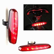 Sykkellykter Baklys til sykkel LED Lyspærer Laser LED - Sykling Laser LED Lys Fargeskiftende Advarsel 400 Lumens Usb Sykling