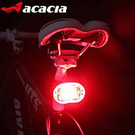 Sykkellykter Baklys til sykkel sikkerhet lys - LED Sykling Enkel å bære LED Lys knapp batteri Lumens Batteri Sykling