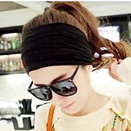 Žene Jednobojni Vintage Slatko Zabava Posao Ležerne prilike Tekstil Traka oko glave