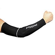 Jaggad Fietsmouwen Armverwarmers Lichtgewicht Zonbescherming UV-bestendig Ademend Comfort Fietsen / Wielrennen voor Heren Volwassenen Racefiets Mountain Bike Vissen Golf Basketbal Effen Kleur 1 paar