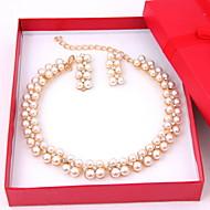 Γυναικεία Κοσμήματα Σετ Περιλαμβάνω Cercei Κολιέ - Κράμα Για Γάμου Πάρτι Ειδική Περίσταση Επέτειος Γενέθλια Αρραβώνας Δώρο Καθημερινά