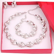 cheap Jewelry-Women's Others Jewelry Set Earrings / Necklace / Bracelets - Regular For Wedding / Party / Special Occasion