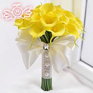"""Bouquets de Noiva Buquês Casamento Poliéster Cetim Espuma 11.8""""(Aprox.30cm)"""