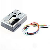 afiada gp2y1010au0f diy poeira PM2.5 sensor de gp2y1010f para Audino / framboesa pi