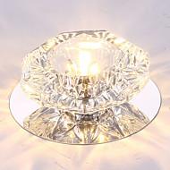 billige Takbelysning og vifter-Moderne / Nutidig Takplafond Omgivelseslys - Krystall LED, 110-120V 220-240V, Varm Hvit Kald Hvit RGB, LED lyskilde inkludert