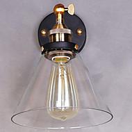 billige Krystall Vegglys-Rustikk / Hytte Vegglamper Metall Vegglampe 110-120V / 220-240V
