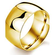 男性用 バンドリング コスチュームジュエリー チタン鋼 ゴールドメッキ クロス ジュエリー 用途 結婚式 パーティー 日常 カジュアル スポーツ