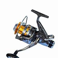 Fiskehjul Spinne-hjul 5.2:1 Gear Forhold+10 Kuglelejer Hand Orientering ombyttelig Havfiskeri / Spinning / Ferskvandsfiskere - KS5000
