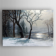 Oil Painting  Impression Landscape  Hand Painted Canvas with Stretched Framed Ready to Hang