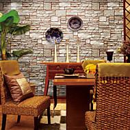 Contemporary Wallpaper Art Deco Stone Grain Wallpaper Wall Covering PVC/Vinyl Wall Art