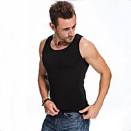 Veći konfekcijski brojevi Potkošulja Muškarci Dnevno Sport Pamuk Jednobojni