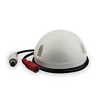 billige Sikkerhetsutstyr-Andre tilbehør DearRoad CCTV High Sensitivity Low Noise Ceiling Mount Audio Pickup 12V DC til Sikkerhet Systemer 9*7*6cm 0.055kg