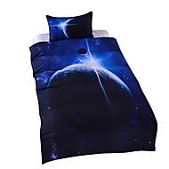preiswerte Bettbezüge-Bettbezug-Sets Neuheit 3 Stück Polyester / Baumwolle Reaktivdruck Polyester / Baumwolle 3-teilig (1 Bettbezug, 2 Kissenbezüge)