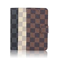 iphone 7 mais 4,7 polegadas caso padrão de grade de alta qualidade luxo pu carteira de couro para o iphone 6s 6 mais