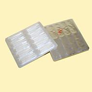 Χαμηλού Κόστους Βελόνες & ακροστόμια για μόνιμο μακιγιάζ-Επαγγελματικό 100pcs Πλαστική ύλη Προσωπική Φροντίδα / Υγεία & Ομορφιά