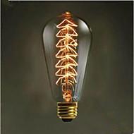 st64 kreativt edison-lys 40 w