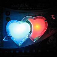 double láska barevné diody světla noci