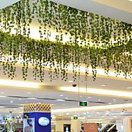 Gren Polyester Planter Veggblomst Kunstige blomster 200*6*6