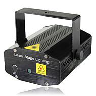 lt - wt punainen + vihreä kaukosäädin mini-vilkkuva laser-vaiheessa valaistus (ääniohjaus / itseliikkuva / kauko)