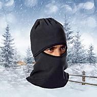 cheap Balaclavas & Face Masks-Ski Balaclava Hat Balaclava Bike Breathable Thermal / Warm Windproof Dust Proof Women's Men's Black Fleece