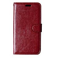 billiga Mobil cases & Skärmskydd-För Nokia-fodral Plånbok Korthållare med stativ fodral Heltäckande fodral Enfärgat Hårt PU-läder för NokiaNokia Lumia 930 Nokia Lumia 830