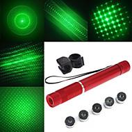 În Formă de Lanternă - Aliaj de Aluminiu - Indicator Laser Verde