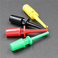 lógica clipe de teste analisador - -red preto --amarelo verde (5 pcs)