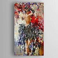 billiga Berömda målningar-oljemålning ett intryck kvinna handen målade med sträckta inramade