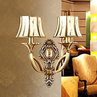 billige Vegglamper-Mini Stil / Pære inkludert Vegglamper,Tradisjonell/ Klassisk E26/E27 Metall