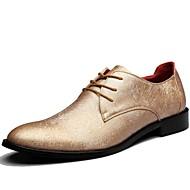 Χαμηλού Κόστους Rose Golden Sneakers-Ανδρικά Παπούτσια Συνθετικό Άνοιξη Φθινόπωρο Ανατομικό Oxfords για Causal Γραφείο & Καριέρα Πάρτι & Βραδινή Έξοδος Χρυσό Μαύρο