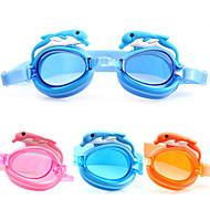 Made In China משקפי שחייה לילדים נגד ערפל / עמיד למים / גודל מתכוונן אצטט אקרילי ורוד / כחול / כתום ורוד / כחול / כתום