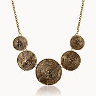Damen Pendant Halskette Statement Ketten Europäisch Silber Bronze Modische Halsketten Schmuck Für Party Alltag Normal
