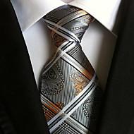 עניבת צווארון - פייסלי דפוס מסיבה / עבודה / בסיסי בגדי ריקוד גברים