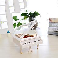 mini-música de piano modelo de caixa ly2002 artesanato de plástico