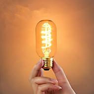 baratos Incandescente-1pç 40 W E26 / E26 / E27 / E27 Bulbos de bola Incandescente Vintage Edison Light Bulb 220-240 V