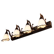 billige Vanity-lamper-Rustikk / Hytte Baderomsbelysning Metall Vegglampe 110-120V / 220-240V 40W