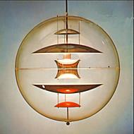 cheap Pendant Lights-Modern simple sspherical transparent Chandelier